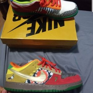Nike dunk sb what the dunk